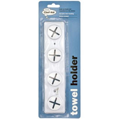 Picture of Chef Aid 4 Hole Tea Towel Holder