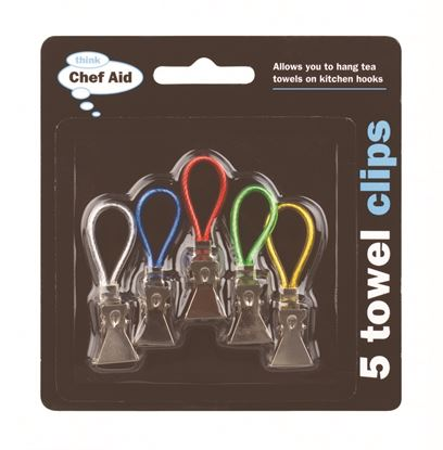 Picture of Chef Aid Towel Clips 5 Pack