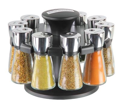 Picture of Cole  Mason Hudson Herb  Spice Carousel 10 Jar