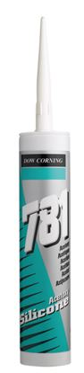 Picture of Dow Corning 781 Acetoxy Silicone 310ml Clear