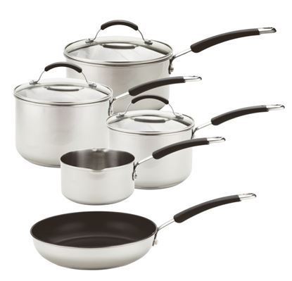 Picture of Prestige Induction Pan Set Stainless Steel - 5 Piece