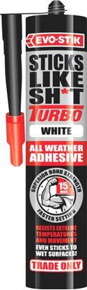 Picture of Evo-Stik Sticks Like Sht Turbo White 290ml