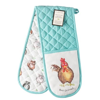 Picture of Price  Kensington Back To Front Double Oven Glove