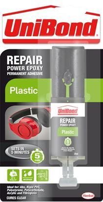 Picture of UniBond Repair Plastic Power Epoxy Syringe 25ml