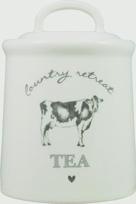 Picture of DMD Country Retreat Tea Canister