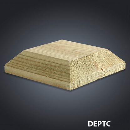Picture of Cheshire Mouldings Decking Patrice Cap 110mm