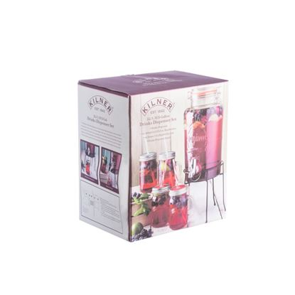 Picture of Kilner Drinks Dispenser Gift Set 5L