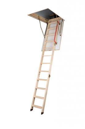 Picture of Fakro Wooden Folding Section Loft Ladder 60 x 120cm