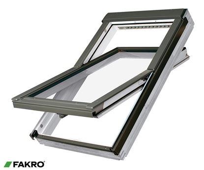 Picture of Fakro Whte Acrylic Centre Pivot Window 55x98