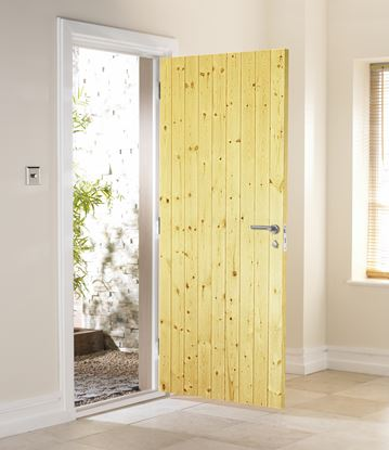 Picture of Jeld Wen Ledged And Braced External Door 78 x 30