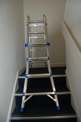 Picture of Titan Aluminium Folding Ladder Multi Purpose