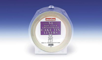 Picture of Caroline Round Cake Tin Liner 8 50 Pack