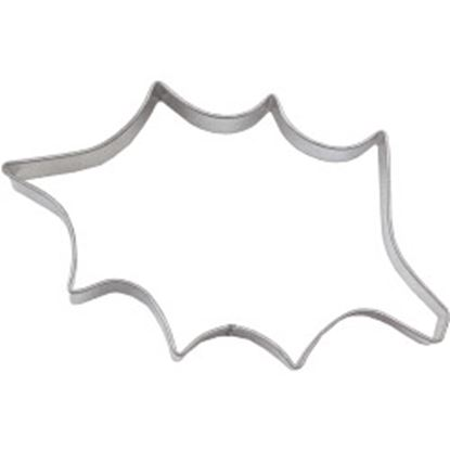 Picture of Chef Aid Holly Leaf Cutter Tinplate 7.5cm