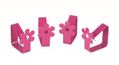 Picture of Chef Aid Flower Tablecloth Clips