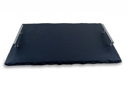 Picture of Commichef Slate Buffet Tray With Handle 40 X 20cm