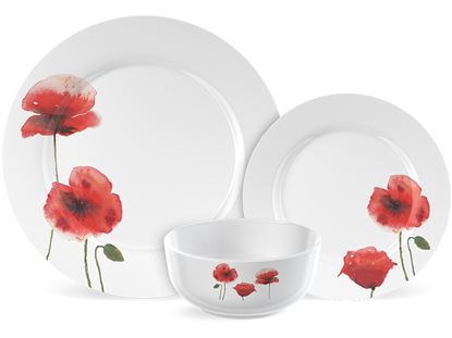 Picture of Creative Tops Poppy Dinner Set 12 Piece