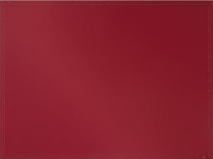 Picture of Creative Tops Bonded Leather Mat Large Red