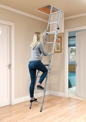 Picture of SupaTool Aluminium Loft Ladder 3 Sections