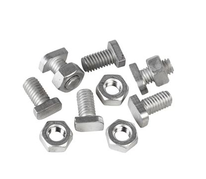Picture of Ambassador Cropped Head Bolts  Nuts Pack 20