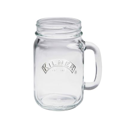 Picture of Kilner Handled Jar Clear 540ml
