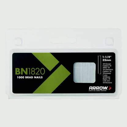 Picture of Arrow Steel Brads 32mm 1000pack