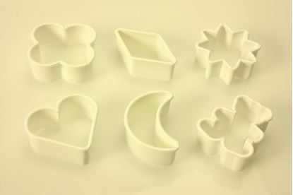 Picture of Probus 6 Plastic Cookie Cutters