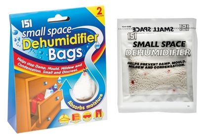 Picture of 151 Small Space Dehumidifier Bags 2 x 50ml