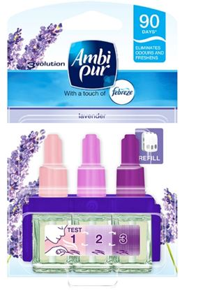 Picture of Ambi Pur 3 Volution Refill 20ml Lavender