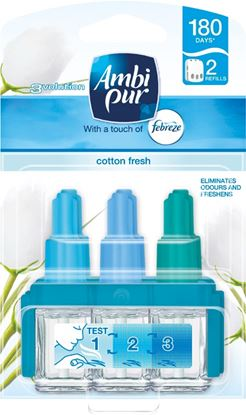 Picture of Ambi Pur 3Volution Refill Twin 2 x20ml Cotton Fresh