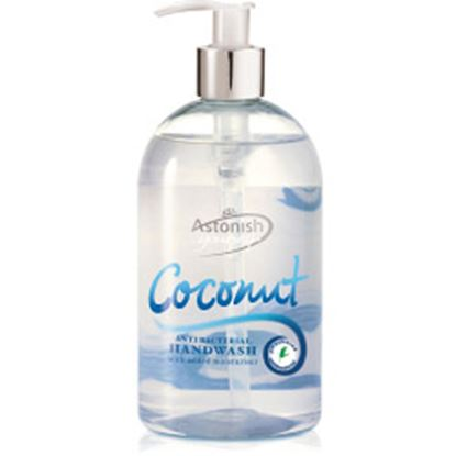Picture of Astonish Anti Bacteral Liquid Handwash - 500ml Coconut