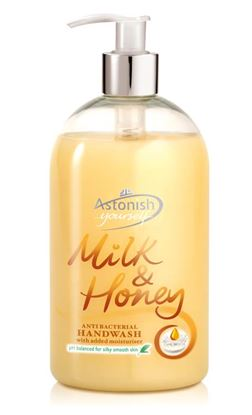 Picture of Astonish Handwash 500ml Milk  Honey