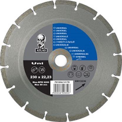 Picture of Atlas Diamond Blade - Universal 230 x 7 x 2.5 x 22.23mm