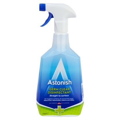 Picture of Astonish 4 In 1 Germ Killer Disinfectant Spray 750ml