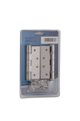Picture of Intelligent Polished 2BB Butt Hinge Grade 13 CE 100mm