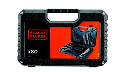 Picture of Black  Decker Mixed Accessory Set 80 Piece