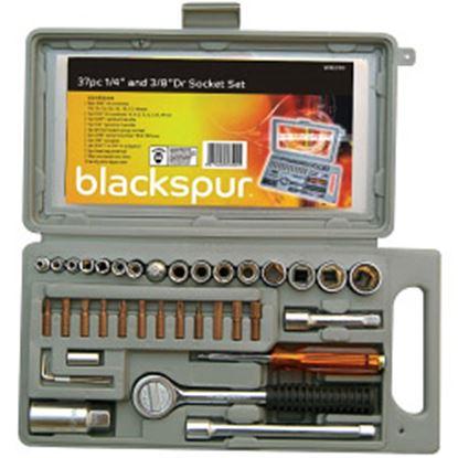 Picture of Blackspur Socket Set - 37 Piece 14  38 Dr