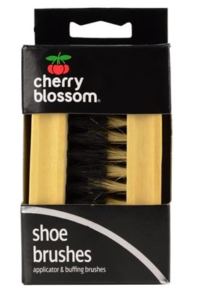 Picture of Cherry Blossom Shoe Brush Set Twin Pack