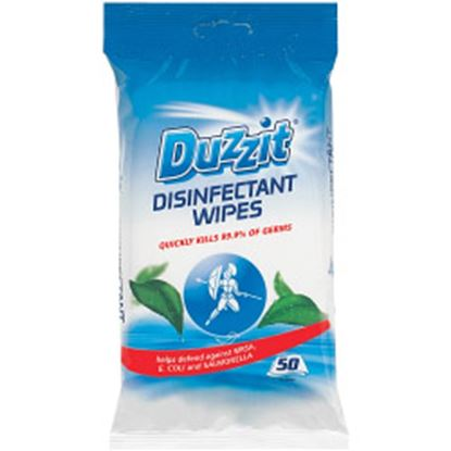 Picture of Duzzit Disinfectant Wipes 50 Pack