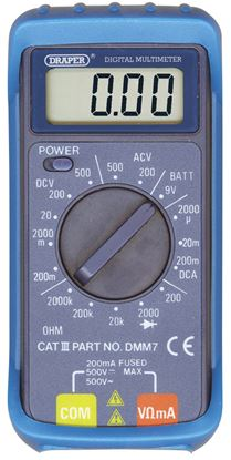 Picture of Draper 16 Function Digital Multimeter