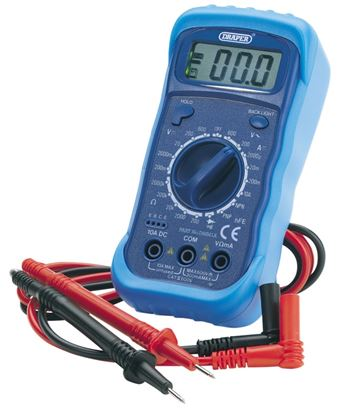 Picture of Draper Digital Multimeter With Light