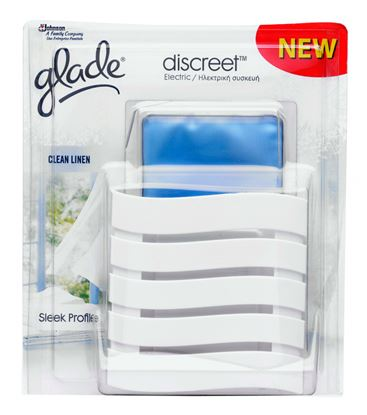 Picture of Glade Discreet Plug In Clean Linen