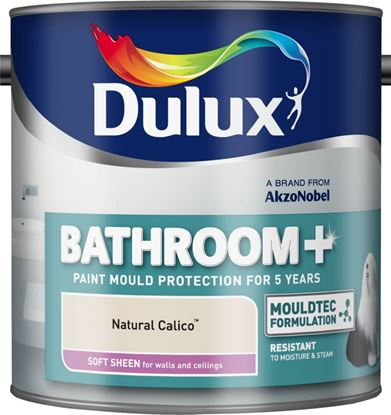 Picture of Dulux Bathroom Soft Sheen 2.5L Natural Calico