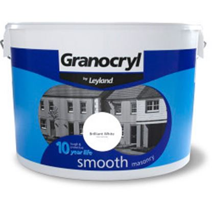 Picture of Granocryl Smooth Masonry 10L Brilliant White
