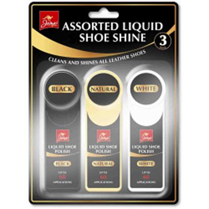 Picture of Jump Assorted Liquid Shoe Shine 3 Pack