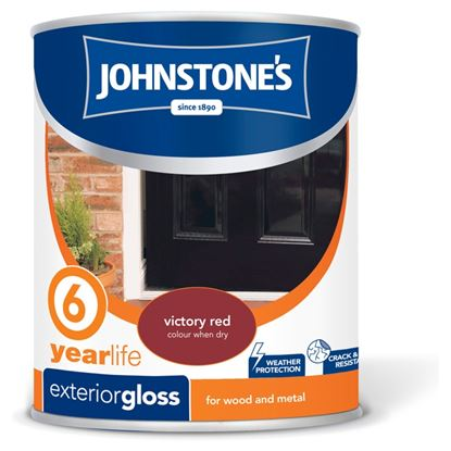 Picture of Johnstones Exterior Gloss 750ml Victory Red