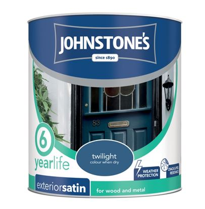Picture of Johnstones Exterior Satin 750ml Twilight