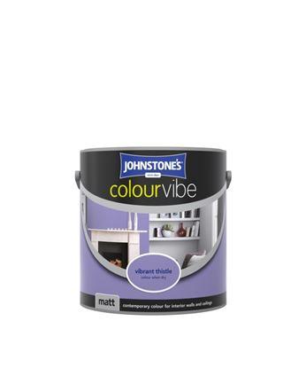 Picture of Johnstones Colourvibe Matt 2.5L Vibrant Thistle