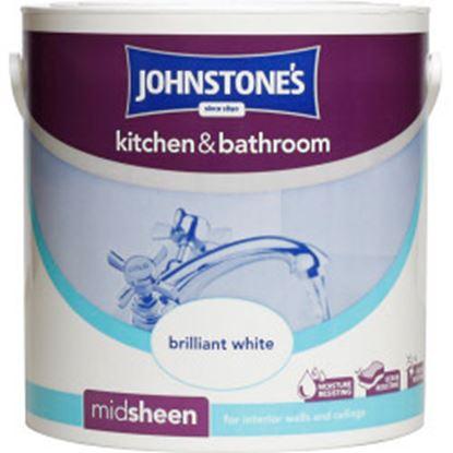 Picture of Johnstones Kitchen  Bathroom 2.5L Brilliant White