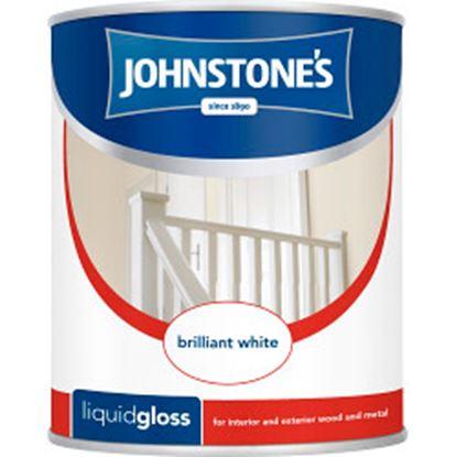 Picture of Johnstones Liquid Gloss 2.5L Brilliant White
