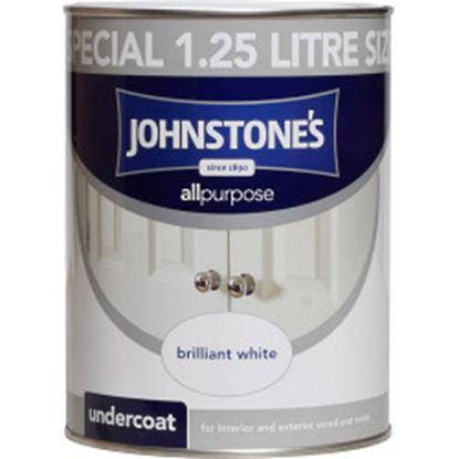 Picture of Johnstones All Purpose Undercoat 1.25L Brilliant White